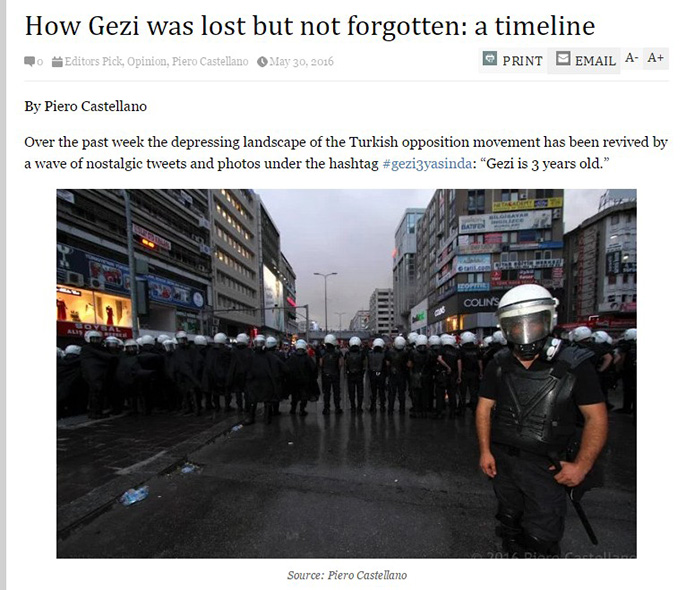 How 'Gezi' was lost but not forgotten