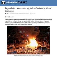 Gezi protests in Ankara