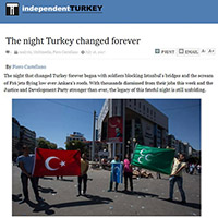 Coup in Turkey one year later