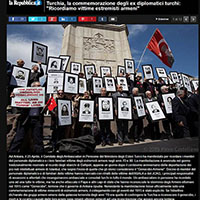 Turkey remembers victims of Armenian extremists