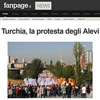 Alevi protest