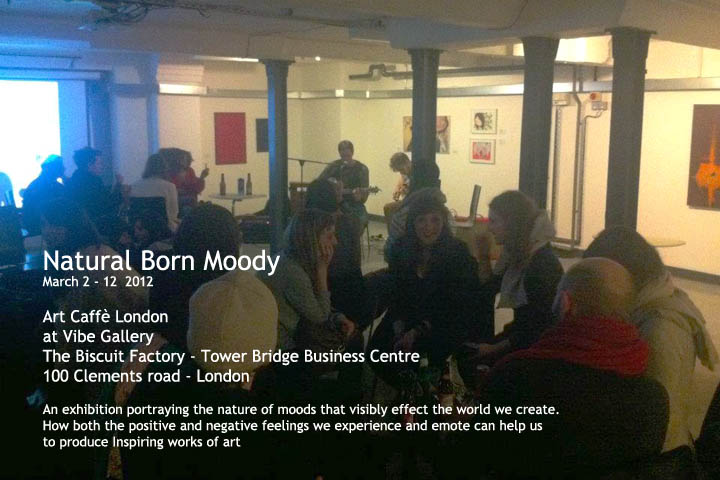 """Natural Born Moody,"" 2012 London, UK"