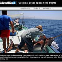 Swordfish hunt in the Straits