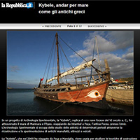 Kybele's voyage