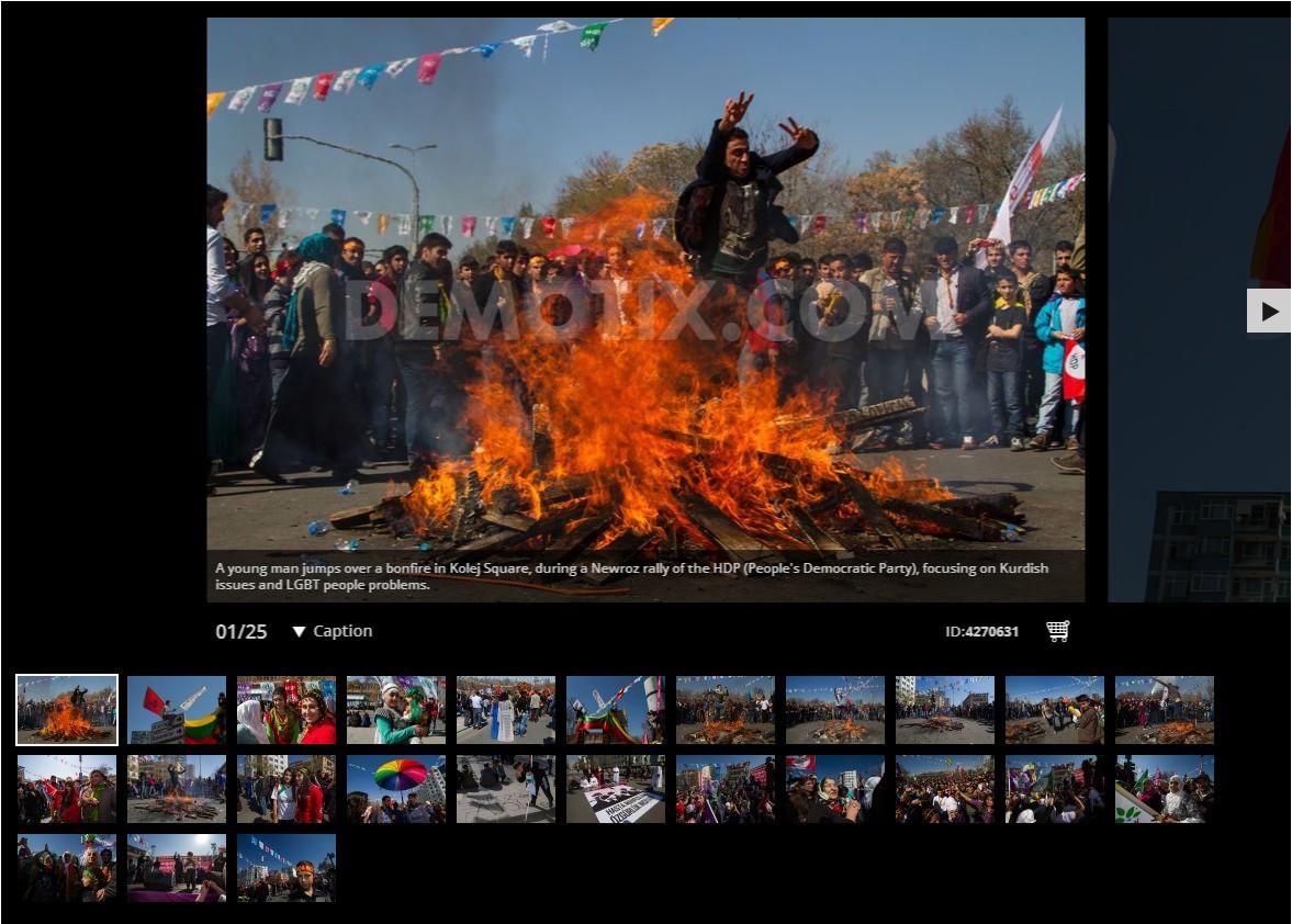 Newroz celebrated at HDP rally in Ankara - Turkey