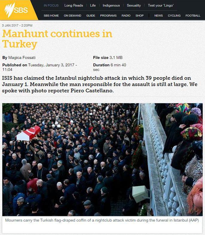 Manhunt continues in Turkey