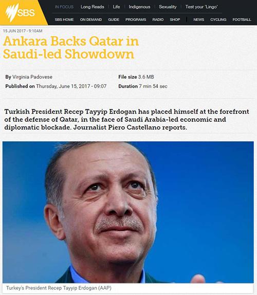 Ankara Backs Qatar in Saudi-led Showdown