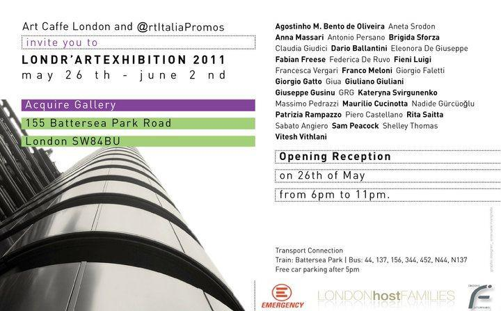 Londr'Art 2011 at Acquire Gallery, London - May 26th - June 2nd, 2011